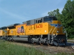 UP 8430 got an extended stay in Paducah this weekend while awaiting delivery for at least 15 years of hard labor on the UP